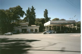 A petrol station in Sucre, July 2000
